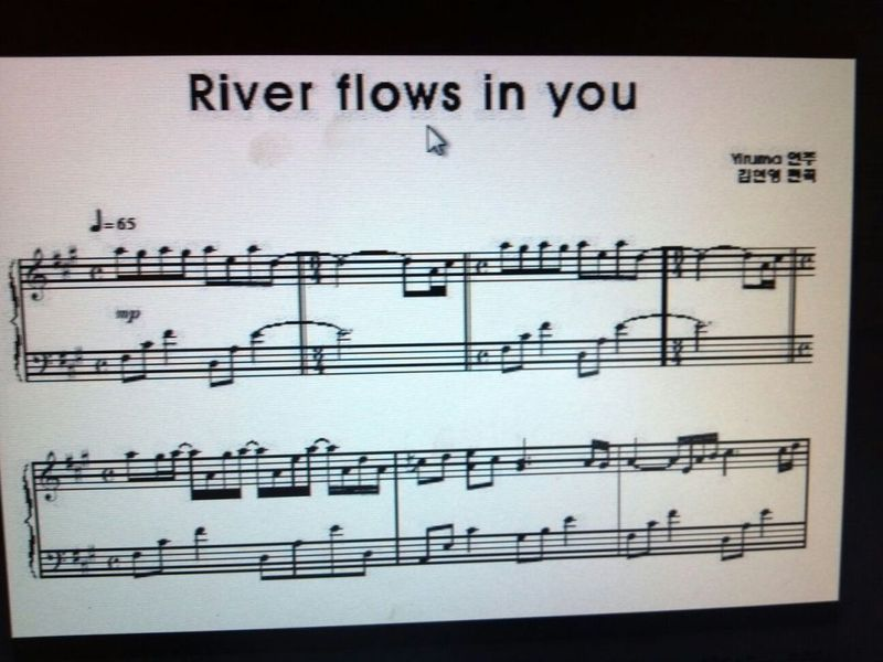 All Music Chords a river flows in you sheet music : on line piano lesson - river flows in you - sunica markovic's blog
