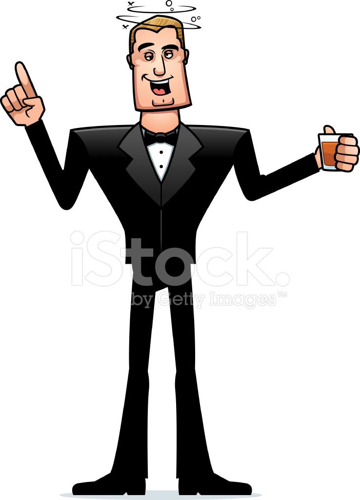 60463884-drunk-cartoon-spy-in-tuxedo