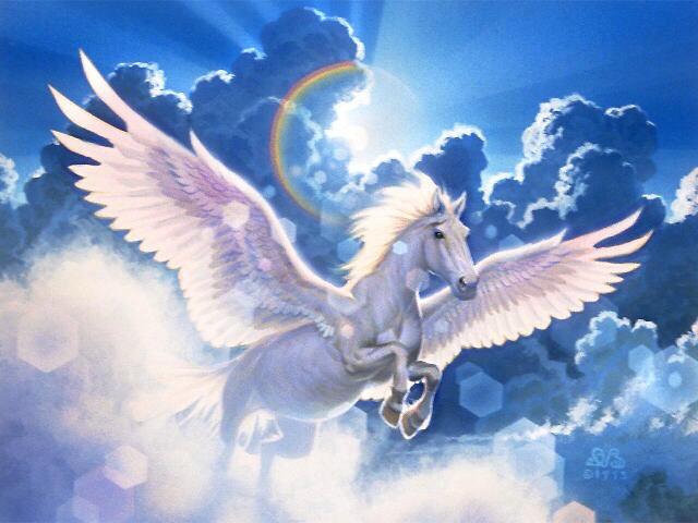 Pegasus_and_sky