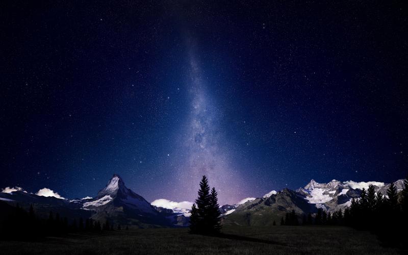 Alpine-night-sky-milkyway-astronomy-wallpaper-2560x1600
